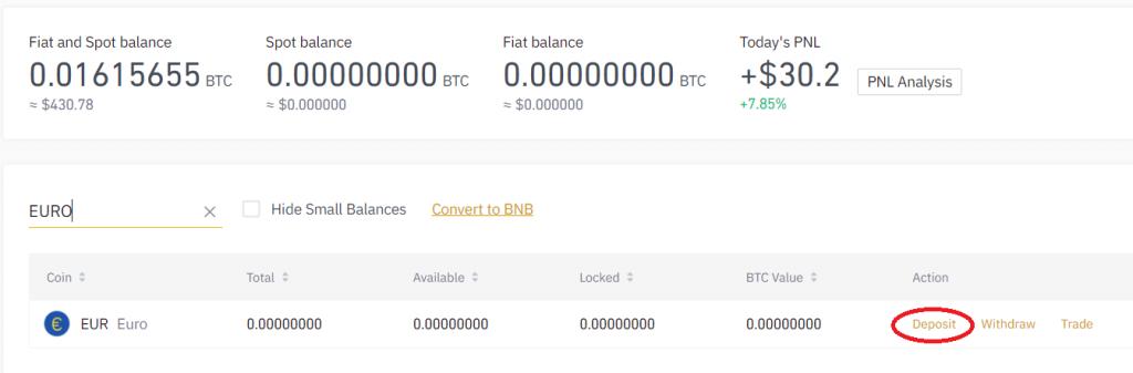 binance fiat and spot inwestowanie w bitcoina